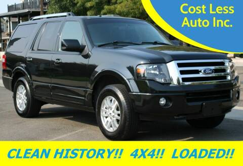 2012 Ford Expedition for sale at Cost Less Auto Inc. in Rocklin CA