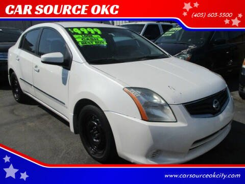 2010 Nissan Sentra for sale at CAR SOURCE OKC in Oklahoma City OK