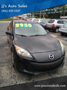2013 Mazda MAZDA3 for sale at JJ's Auto Sales in Independence MO
