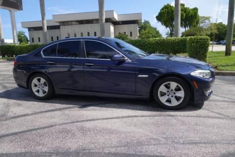 2013 BMW 5 Series for sale at SR Motorsport in Pompano Beach FL