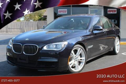 2013 BMW 7 Series for sale at 2020 AUTO LLC in Clearwater FL