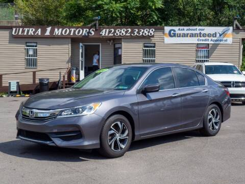 2017 Honda Accord for sale at Ultra 1 Motors in Pittsburgh PA