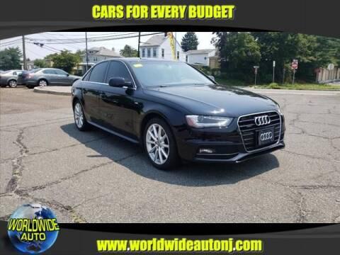 2014 Audi A4 for sale at Worldwide Auto in Hamilton NJ