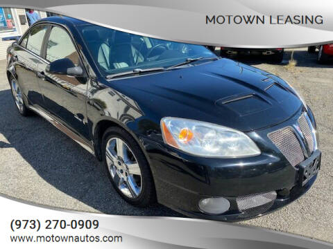 2008 Pontiac G6 for sale at Motown Leasing in Morristown NJ