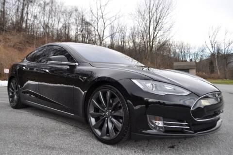 2013 Tesla Model S for sale at CAR TRADE in Slatington PA