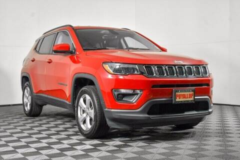 2018 Jeep Compass for sale at Chevrolet Buick GMC of Puyallup in Puyallup WA