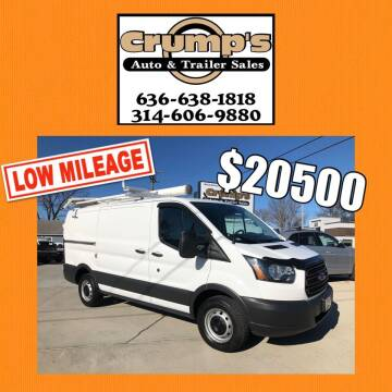 2016 Ford Transit Cargo for sale at CRUMP'S AUTO & TRAILER SALES in Crystal City MO