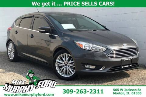 2017 Ford Focus for sale at Mike Murphy Ford in Morton IL