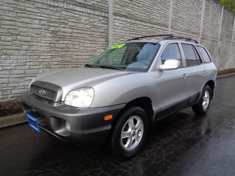 2003 Hyundai Santa Fe for sale at Matthews Motors LLC in Algona WA