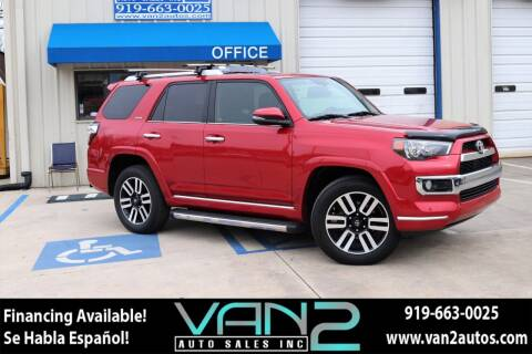 2014 Toyota 4Runner for sale at Van 2 Auto Sales Inc in Siler City NC