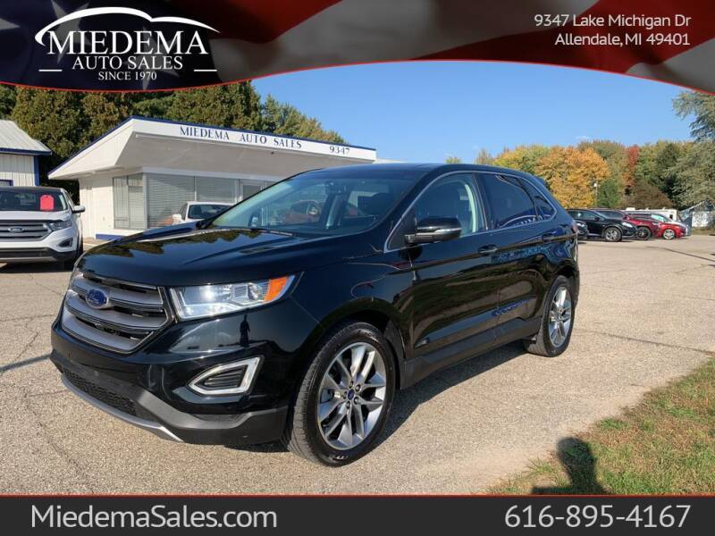 2017 Ford Edge for sale at Miedema Auto Sales in Allendale MI