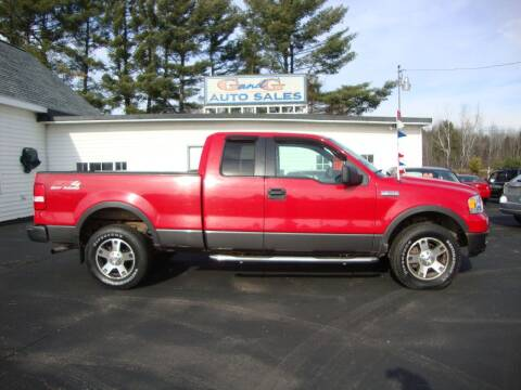 2005 Ford F-150 for sale at G and G AUTO SALES in Merrill WI