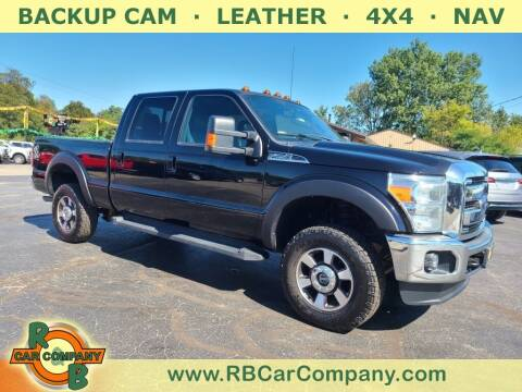 2016 Ford F-250 Super Duty for sale at R & B CAR CO - R&B CAR COMPANY in Columbia City IN
