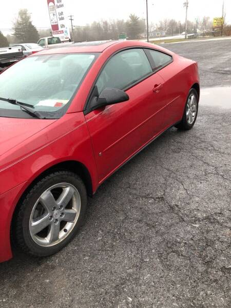 2006 Pontiac G6 for sale at Alex Bay Rental Car and Truck Sales in Alexandria Bay NY