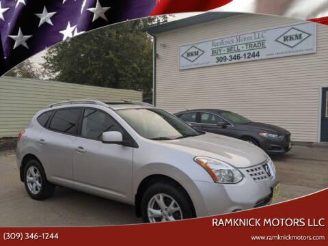 2008 Nissan Rogue for sale at RamKnick Motors LLC in Pekin IL