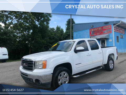 2010 GMC Sierra 1500 for sale at Crystal Auto Sales Inc in Nashville TN