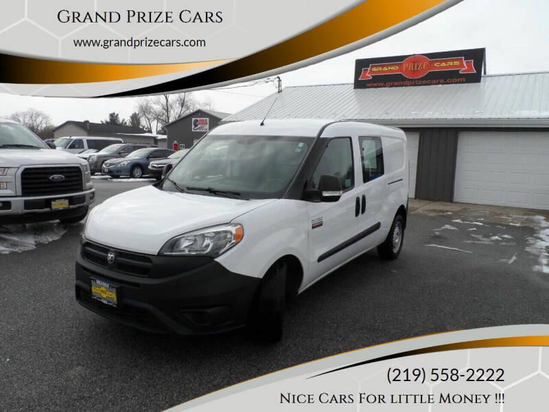 2016 RAM ProMaster City Cargo for sale at Grand Prize Cars in Cedar Lake IN
