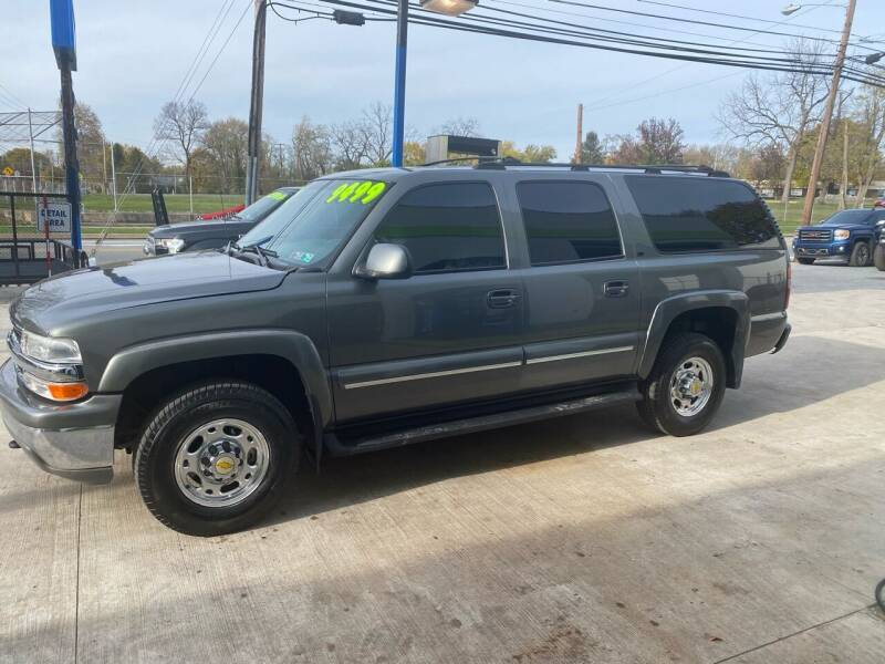 2001 Chevrolet Suburban for sale at Ginters Auto Sales in Camp Hill PA
