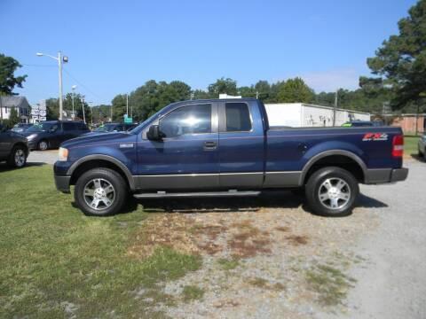 2005 Ford F-150 for sale at SeaCrest Sales, LLC in Elizabeth City NC