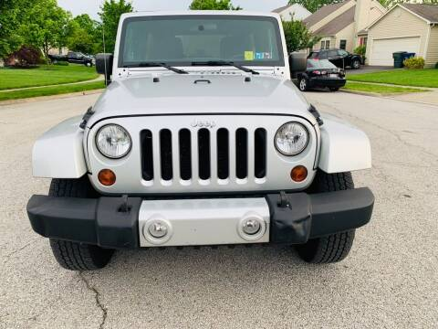2011 Jeep Wrangler Unlimited for sale at Via Roma Auto Sales in Columbus OH