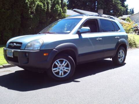 2008 Hyundai Tucson for sale at Redline Auto Sales in Vancouver WA