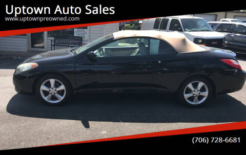 2006 Toyota Camry Solara for sale at Uptown Auto Sales in Rome GA