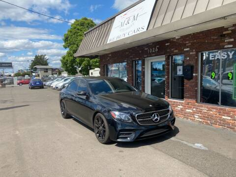 2017 Mercedes-Benz E-Class for sale at M&M Auto Sales in Portland OR