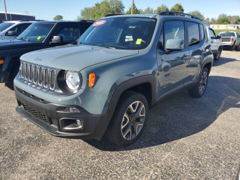 2018 Jeep Renegade for sale at Paris Auto Sales & Service in Big Rapids MI