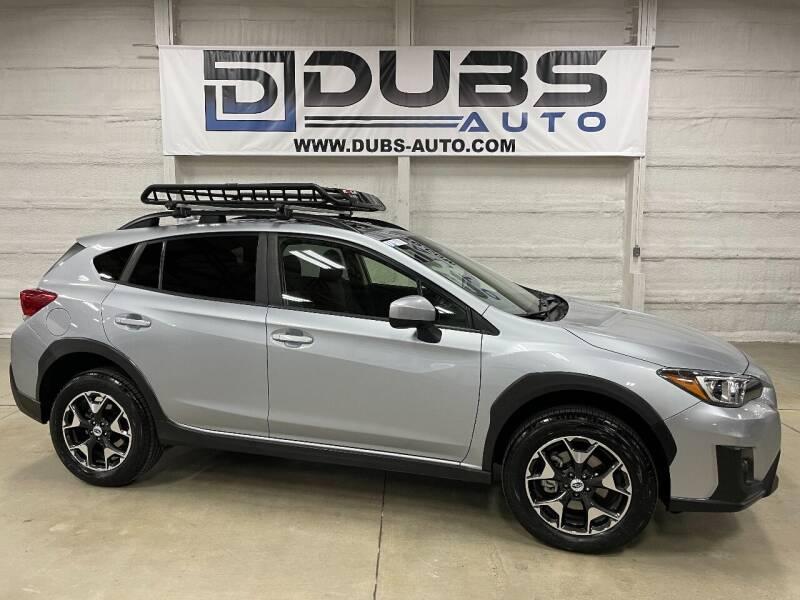 2018 Subaru Crosstrek for sale at DUBS AUTO LLC in Clearfield UT