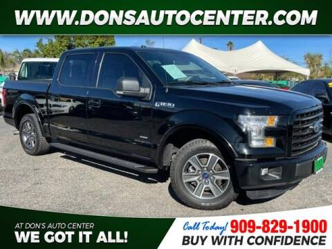 2016 Ford F-150 for sale at Dons Auto Center in Fontana CA