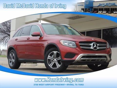 2017 Mercedes-Benz GLC for sale at DAVID McDAVID HONDA OF IRVING in Irving TX