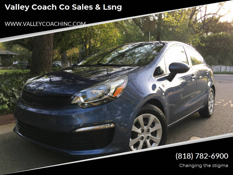 2016 Kia Rio for sale at Valley Coach Co Sales & Lsng in Van Nuys CA