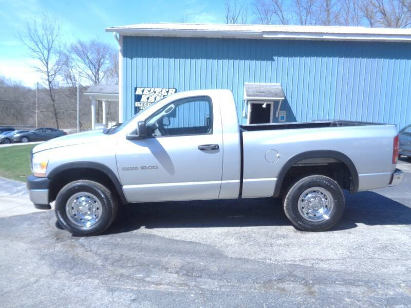 2006 Dodge Ram Pickup 1500 for sale at Keiter Kars in Trafford PA