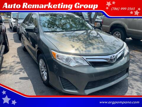 2013 Toyota Camry for sale at Auto Remarketing Group in Pompano Beach FL