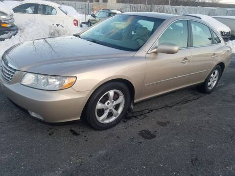 2006 Hyundai Azera for sale at JG Motors in Worcester MA