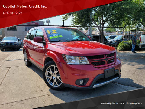 2012 Dodge Journey for sale at Capital Motors Credit, Inc. in Chicago IL
