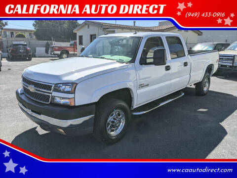 2005 Chevrolet Silverado 2500HD for sale at CALIFORNIA AUTO DIRECT in Costa Mesa CA