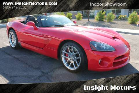 2004 Dodge Viper for sale at Insight Motors in Tempe AZ