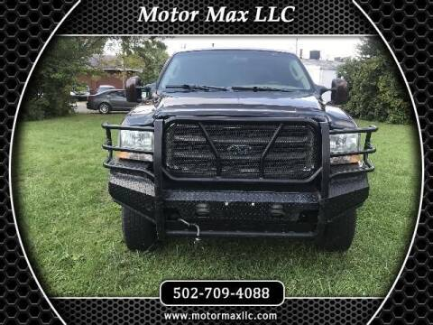 2004 Ford F-250 Super Duty for sale at Motor Max Llc in Louisville KY