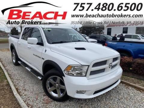 2011 RAM Ram Pickup 1500 for sale at Beach Auto Brokers in Norfolk VA