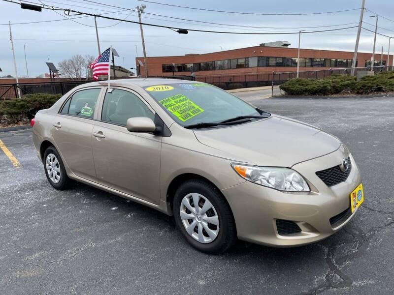 2010 Toyota Corolla for sale at Fields Corner Auto Sales in Dorchester MA
