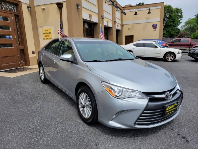 2017 Toyota Camry for sale at ACS Preowned Auto in Lansdowne PA