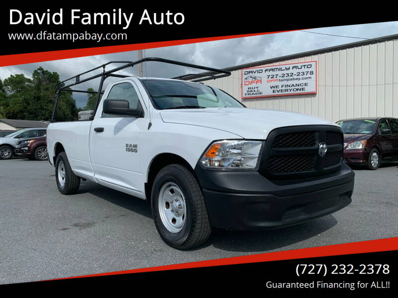 2017 RAM Ram Pickup 1500 for sale at David Family Auto in New Port Richey FL