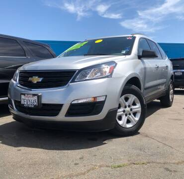 2014 Chevrolet Traverse for sale at LUGO AUTO GROUP in Sacramento CA