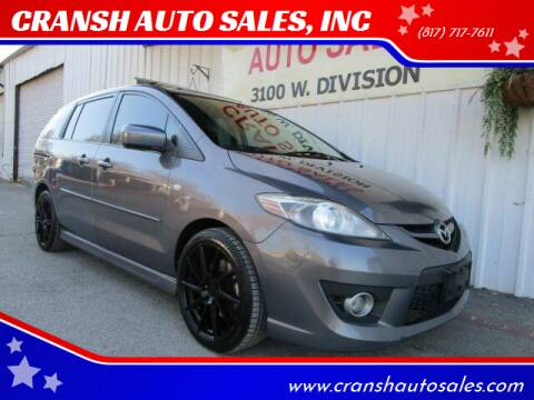 2008 Mazda MAZDA5 for sale at CRANSH AUTO SALES, INC in Arlington TX