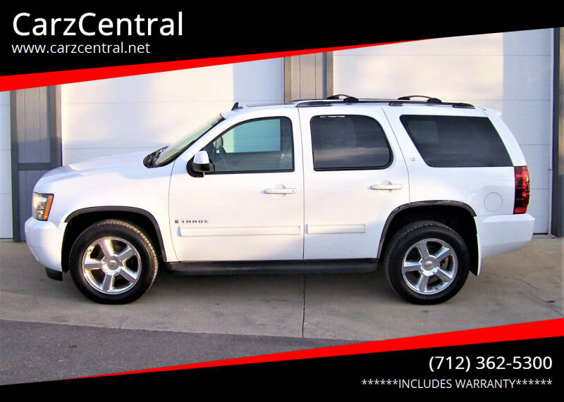 2009 Chevrolet Tahoe for sale at CarzCentral in Estherville IA