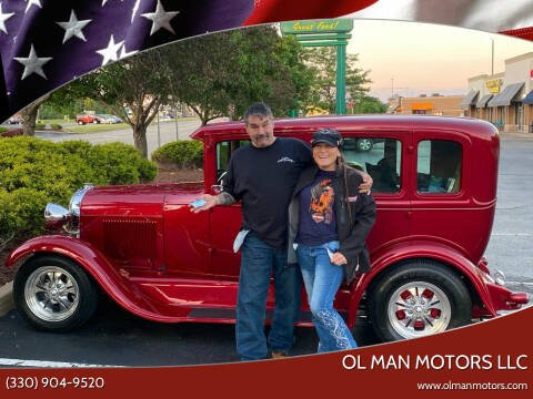 1929 Ford Model A for sale at Ol Man Motors LLC in Louisville OH