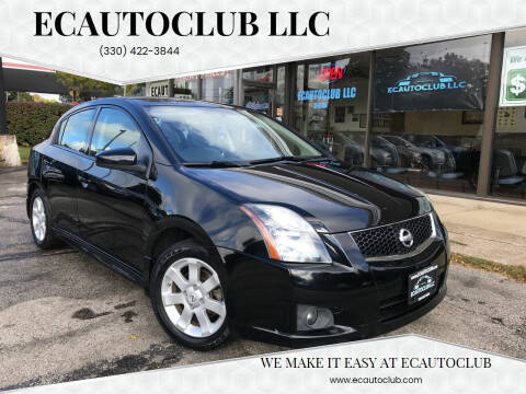 2011 Nissan Sentra for sale at ECAUTOCLUB LLC in Kent OH