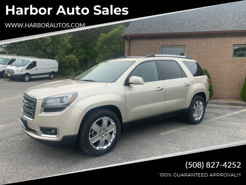 2017 GMC Acadia Limited for sale at Harbor Auto Sales in Hyannis MA
