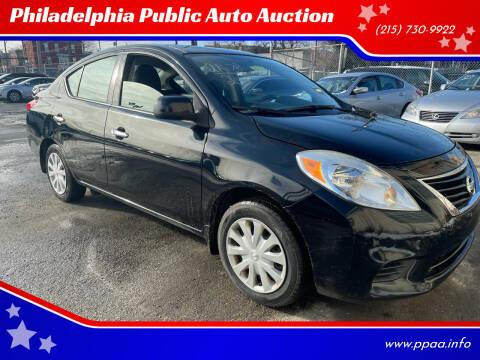 2014 Nissan Versa for sale at Philadelphia Public Auto Auction in Philadelphia PA